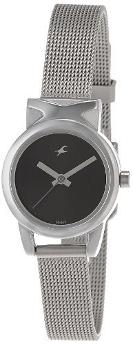 Fastrack Fits & Forms Analog Black Dial Women's Watch - 6088SM01 image