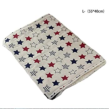 IEUUMLER Soft Tapis de lit pour Chat Suspendu Chat Doux Hamac Comfortable Sleeping Mat Matelas de Cage IE144 (L, Pentagram)