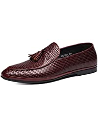 Dilize - Mocasines para hombre, color marrón, talla 40 EU