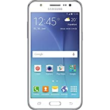 "Samsung Galaxy J5 - Smartphone de 5"" (1280 x 720 pixeles, TFT, 1,2 GHz, memoria interna de 8 GB, 4G), blanco"
