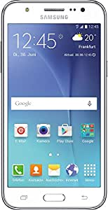 Samsung Galaxy J5 Smartphone (5 Zoll (12,7 cm) Touch-Display, 8 GB Speicher, Android 5.1) weiß