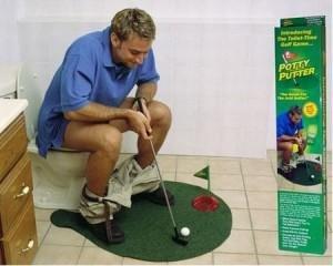 Toilette Da Bagno : Gioco golf da bagno minigolf toilette set da gioco completo svago e