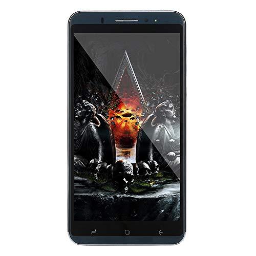 Oasics Smartphone 6,0 Zoll Doppel-HDCamera Smartphone Android IPS-Full-Bildschirm GSM/WCDMA 8 GB Touchscreen WiFi Bluetooth GPS 3G Anruf-Handy (Schwarz)