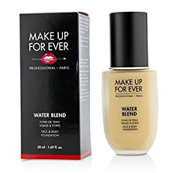 Make Up For Ever Water Blend Face & Body Foundation -  Y245 (Soft Sand) 50ml/1.69oz