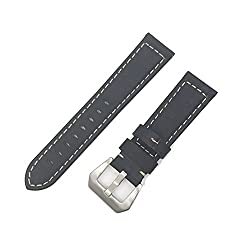 New Genuine Leather Straps, Hongtianyuan Watch Band Gear S3 V-moro For Gear S3 Samsung S3 Band Bracelet Watch Gear S3 Classic Border (Armygreen)