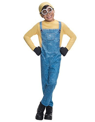 Minion Kostüm, Kinder Bob Outfit, mittel, Alter 5-7, Höhe 4'5,1cm-4' - National Kostüm Dress Up