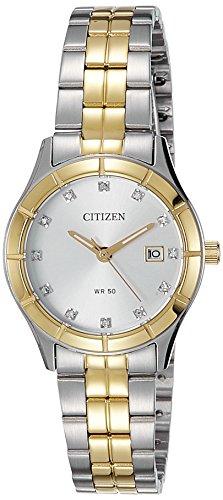 Citizen Analog White Dial Women's Watch - EU6044-51A image