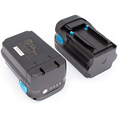 vhbw 2 x Li-Ion Batería 6000mAh (36V) para su herramienta electrónica Hilti TE 6A, TE 7A, TE6A, TE7A por B36V,