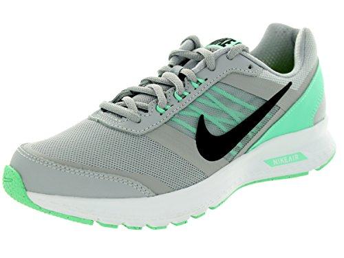 Nike Wmns Air Relentless 5, Scarpe sportive, Donna Wolf Grey/Black/Green Glow/Vlt