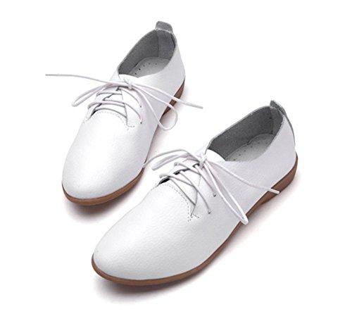 scarpe da donna primavera mamma calza i pattini casuali White