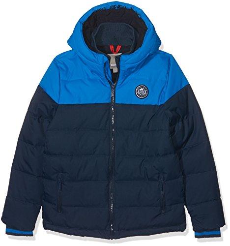 Bench Jungen Jacke Heavy Puffa Jacket, Blau (Blue Bl069), 140 (Herstellergröße: 9-10)