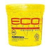 DESCRIPCIÓN El Gel de cabello de color Eco Style está especialmente creado para cabello teñido o resaltado. Tiene humedad y protección química añadidas y es ingrávida para un agarre que desafíe la gravedad. El gel de cabello de color Eco Styl...