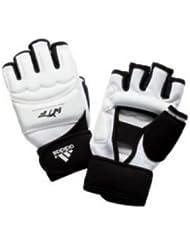 Adidas - Mitaines Blanc/Noir Wtf