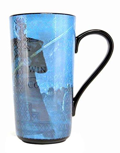 Game of Thrones Latte, Keramik, Schwarz Blau, One Size -