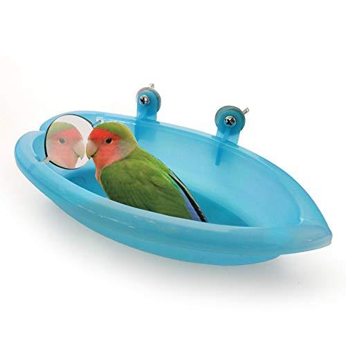 Hankyky - Baño para pájaros con Espejo