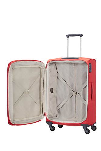 Samsonite - Base Hits Spinner 66 cm, Rojo (POPPY RED)