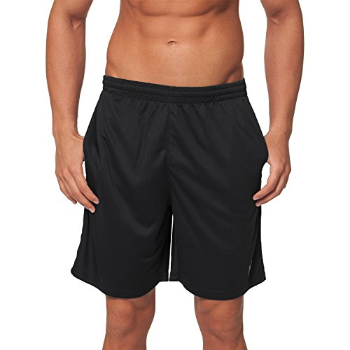 24bde203fca4e6 CFLEX Men Sportswear Collection - Herren Funktion Sport Kleidung - Fitness  Quickdry Shorts   Hosen Schwarz Größe L