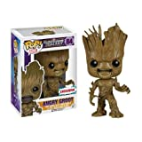 FunKo 017681 Pop Movies : Guardians of The Galaxy Angry Groot 84 Bobble Head Figure