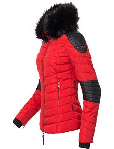 Marikoo Damen Winter Jacke Steppjacke Mamba vegan hergestellt Abbildung 3
