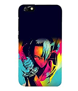 printtech Anime Cartoon Character Back Case Cover for Huawei Honor 4X::Huawei Glory Play 4X