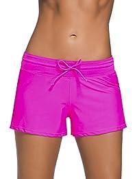 addf75a103e Amazon.es  Rosa - Shorts y bermudas   Ropa de baño  Ropa