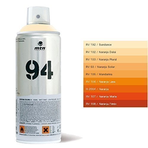 MTN 94 Solar Orange Sprühfarbe - 400ml