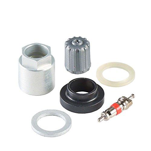 20x Kit réparation de valve TPMS H02 pour Cub capteur universel Hofmann Power Weight | Kit de service TPMS Pression Pneu