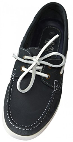 Beverly Originals Scarpe da barca da uomo Men's Casual Skipper, Couleur:marine;Größe:43