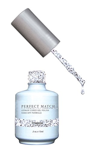 LeChat Perfect Match Gel UV/LED Titanium Pop Of Vogue 2014 15 ml