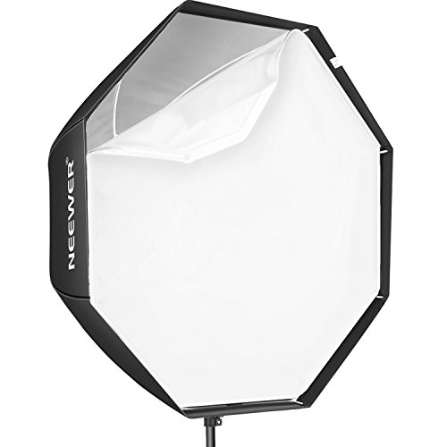 "Neewer 47""/120cm Octagonal Speedlite, Studio Flash, Speedlight Umbrella Softbox with Carrying Bag for Portrait or Product Photography"