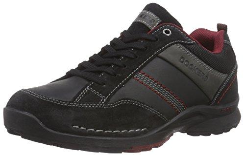 dockers-by-gerli-37lk007-204120-herren-sneakers-schwarz-schwarz-grau-120-43-eu