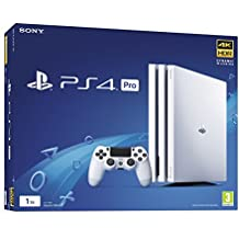 Sony PS4  Pro 1 TB  Console (White)