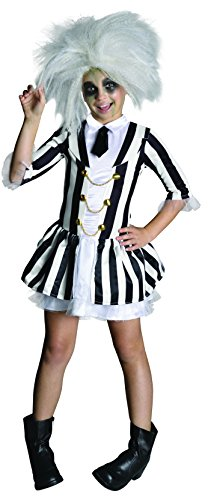 Beetlejuice Girl's Dress Costume Child Small