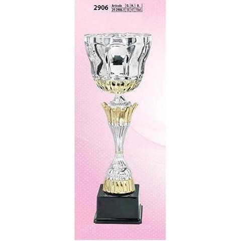 COPPA 47 CM ALTEZZA 18 CM DIAMETRO BASE 10 x 6 CM 29061 ADM s.r.l. - 10 Trofeo Coppa