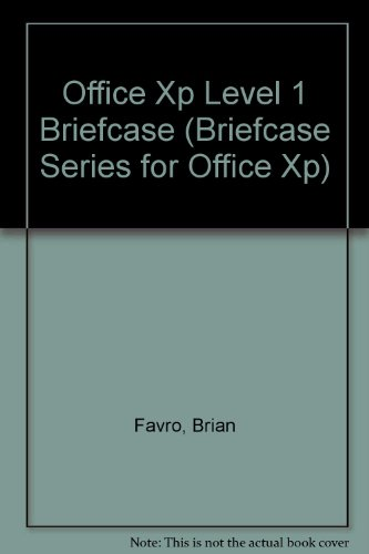 Office Xp Level 1 Briefcase (Briefcase Series for Office XP)