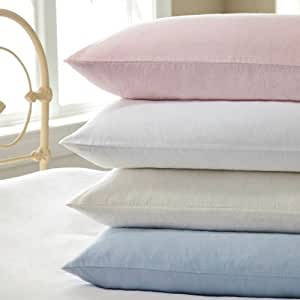 KING BLUE 100% BRUSHED SOFT COTTON THERMAL FLANNELETTE SHEET SETS : FITTED FLAT & PILLOWCASES