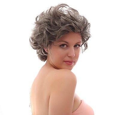 hjl-lace-front-gris-courts-boucles-mixte-perruques-avec-vingt-pour-cent-de-cheveux-humains