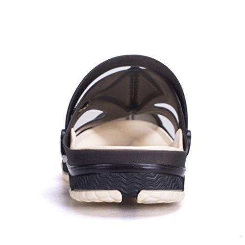 Sentao Man Couples Respirant Plage Sandales Pantoufles Occasionnels Extérieur Jardin Chaussures Style 1