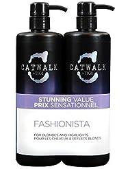 TIGI Catwalk Fashionista Violet Tween Shampooing & Après-Shampoing Duo 2x 750ml by Fashionista