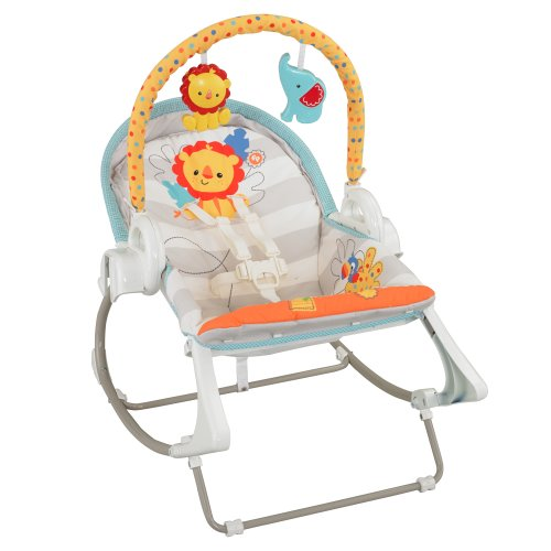 Fisher-Price Modelo BFH06 Hamaca Bebe Rocker electrica - 4