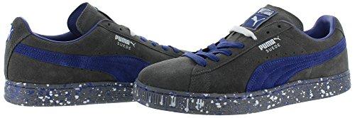 Puma Uomo Puma Classic Wedge L scarpe da ginnastica Steel Gray-Clematis Blue
