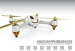 Hubsan H501S X4 5. 8G FPV Brushless With 1080P HD Camera GPS RC Drone Quadcopter RTF Professional Version by Ferre Express