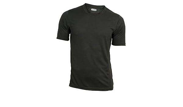 COOLDRY Oregon Funktions T-Shirt in schwarz kurzarm
