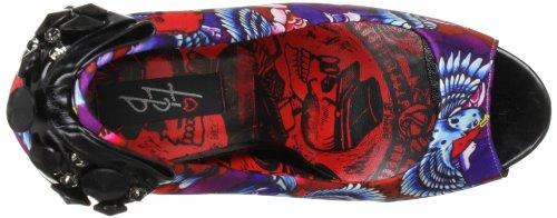 Iron Fist Havana Breeze Peep Toe Platform 611682 Damen Pumps Violett (Purple)