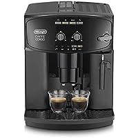 De'Longhi ESAM 2600 - Cafetera superautomática, 15 bar de presión, dispositivo cappuccino ajustable, limpieza automática, negro