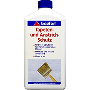 Baufan Tapeten und Anstrichschutz, Schmutz- und wasserabweisend, 1 l