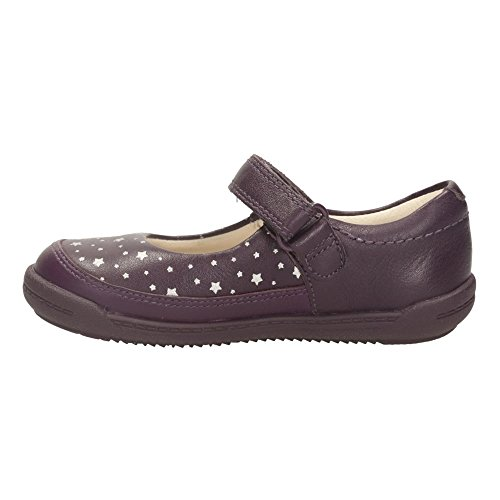 Clarks Ida en douceur Girls First Chaussures Violet - violet