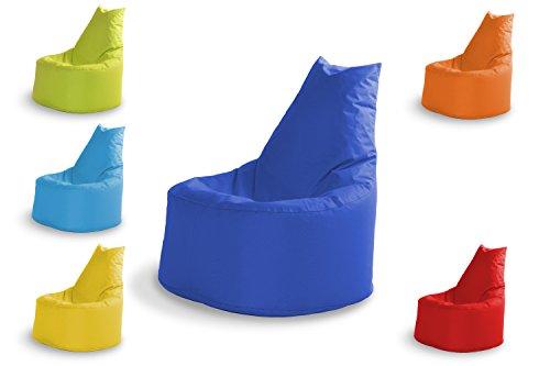 Sitzsack Outdoor Wasserfest Sessel Indoor Gamer Gaming für Kinder und Erwachsene Lounge Sitzkissen Kissen Beanbag Chair Sofa Hocker Sitzsäcke Sitzsacke Spiel Garten mit Füllung Blau in 6 Farben