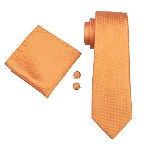 CAOFENVOO cravate de soirée/ de mariage pour Homme Gris Taille unique