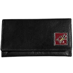 NHL Phoenix Coyotes Genuine Leather Women's Wallet
